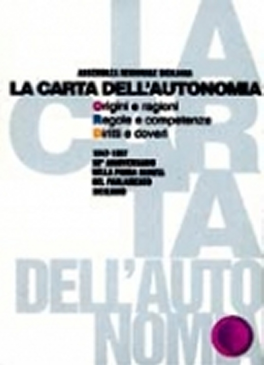 Salvatore Parlagreco - La carta dell'autonomia